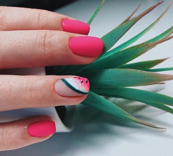 Матовий манікюр 2019-2020, модні матові нігті, фото ідеї матового дизайну нігтів